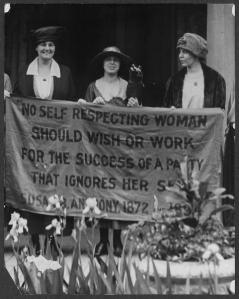 Suffragists at the 1920 Republican convention.