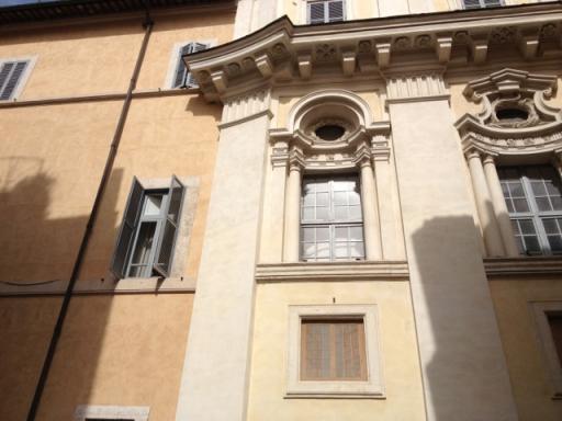 Bernini vs. Borromini, written in stone