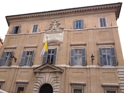 Palazzo di Propaganda: Bernini's facade