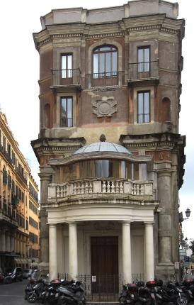 Palazzo Zuccari (photo by Manfred Heyde)