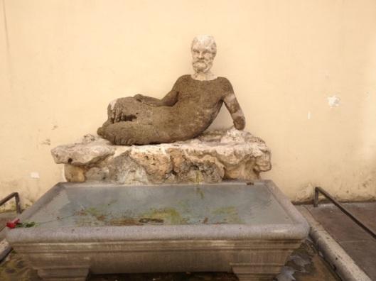 Talking Statue on Via del Babuino
