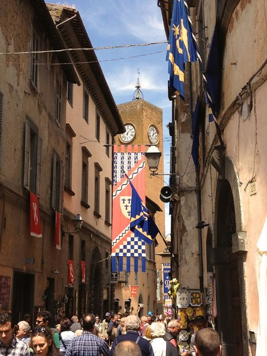 Orvieto welcomes the crowds for Corpus Domini
