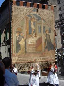 A tapestry depicting the Miracle of Bolsena