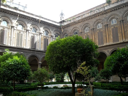 Palazzo Pamphilj courtyard