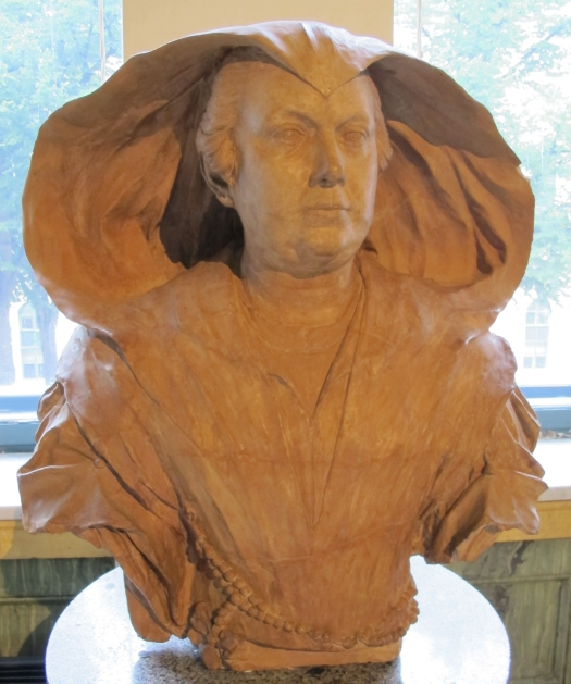 Olimpia Pamphilj bust by Alessandro Algardi