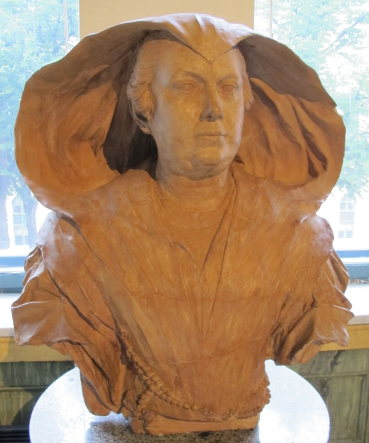 Olimpia Pamphil bust by Alessandro Algardi