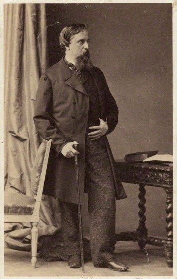Prince Philip Andrew Doria Pamphilj Landri by DisdÈri, albumen carte-de-visite, 1860s © National Portrait Gallery, London