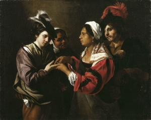 Bartomomeo Manfredi's Fortune Teller