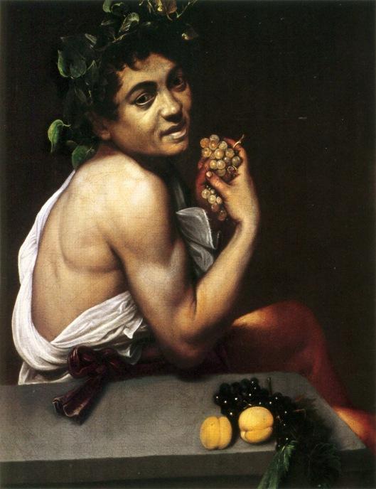 Caravaggio's Bacchus, c. 1593-94