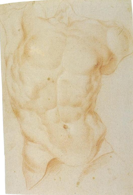 Sketch by Bernini of Laocoon
