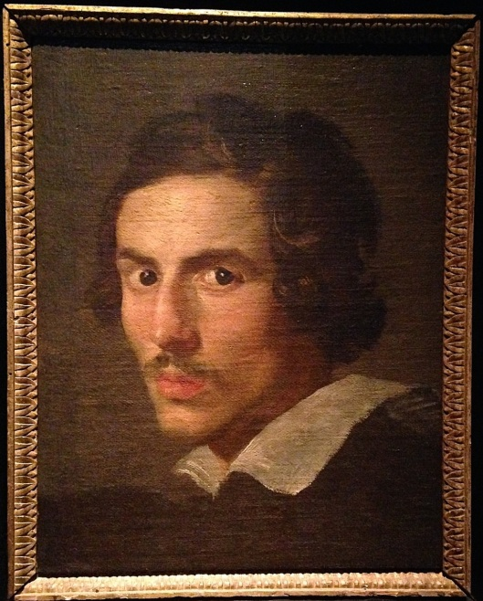 Self-portrait of a young Bernini