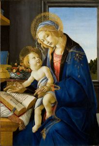 Botticelli's Virgin and Child.