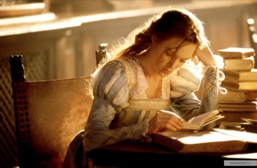 Catherine McCormack in the film Dangerous Beauty, about a Venetian courtesan and poet. The film shows the education and training courtesans went through to become the most sought-after.