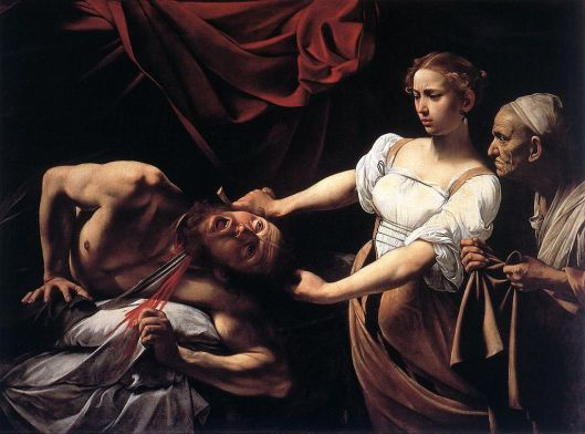 Judith Beheading Holofernes (15TK), with Fillide as the take-charge Judith.