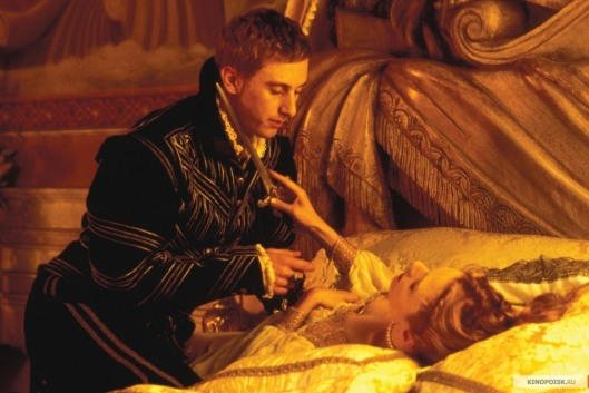A scene from the film Dangerous Beauty, about a Venetian courtesan, with Catherine McCormack.