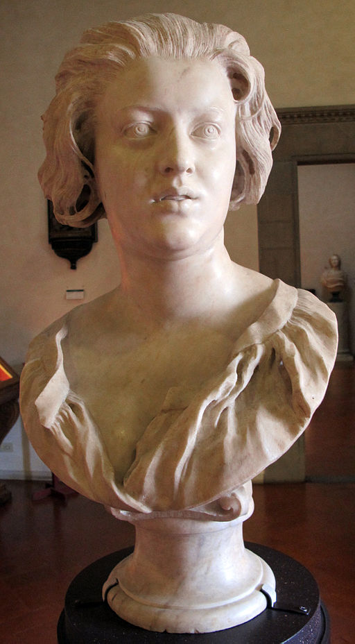 Costanza Bonarelli bust by Bernini