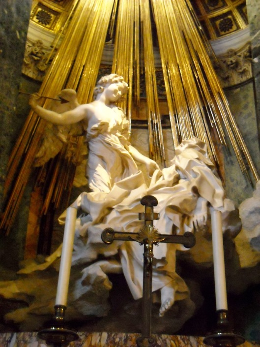 The Ecstasy of Saint Teresa, from Santa Maria della Vittoria church, Rome.