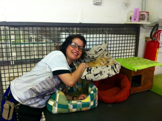 Laura has been volunteering at the shelter for years